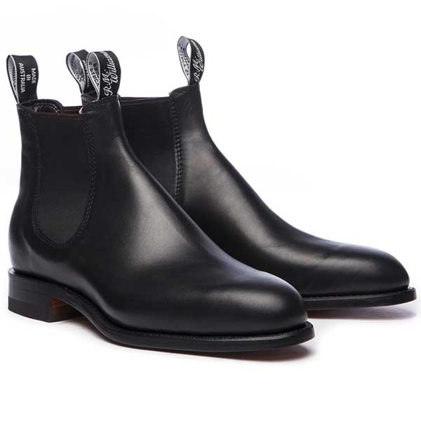 RM Williams Craftsman Boots (L) - Black - Lucks of Louth