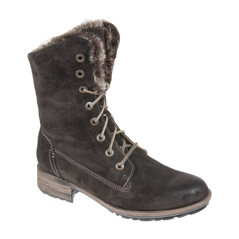 Josef Seibel Sandra 93 Boots - Titan (Brown) - Lucks of Louth