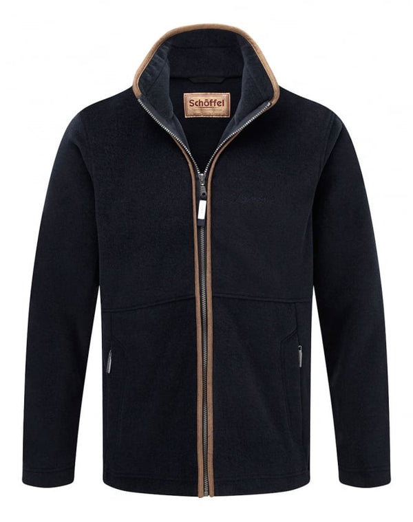 Schoffel Cottesmore Fleece Jacket - Navy - Lucks of Louth