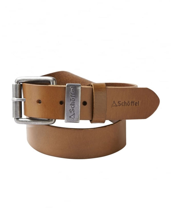 Schoffel Leather Belt - Tan - Lucks of Louth