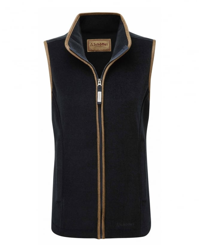 Schoffel Lyndon II Fleece Gilet - Navy - Lucks of Louth