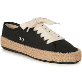 Emu Agonis Espadrille Trainer - Black - Lucks of Louth