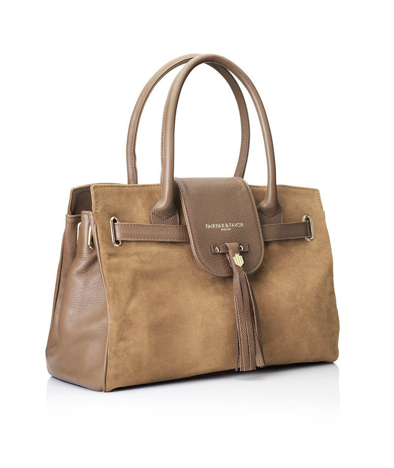 Fairfax & Favor Windsor Handbag - Tan - Lucks of Louth