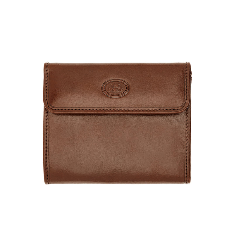 The Bridge 01.7718.01 Ladies Small Wallet - Brown - Lucks of Louth