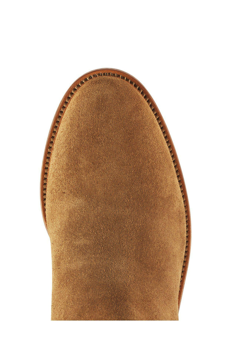 Fairfax & Favor Regina Boot (Heeled) - Tan