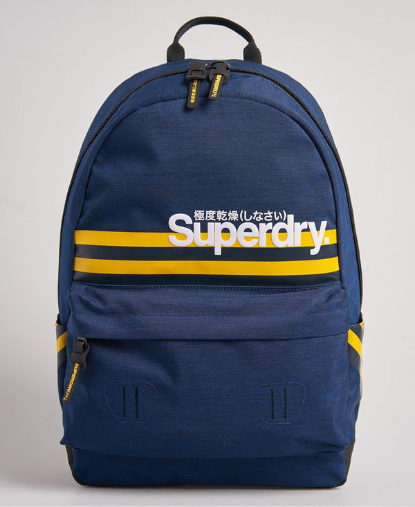 Superdry Montauk Stripe Montana Rucksack - Blue - Lucks of Louth