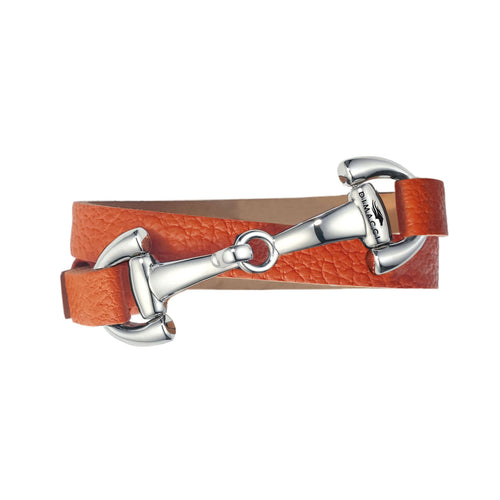 Dimacci Favorit Armband orange Edelstahl