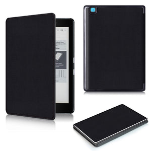For Kobo Aura Edition 2 new 6 inch eReader Ebook PU leather smart cover protective stand folio case + protector film + stylus