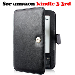 Case for Amazon Kindle  3 3rd generation ebook reader  keyboard screen protector+stylus pen