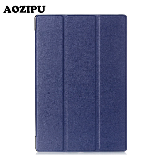 Smart Magnet Fold Flip PU Leather Funda Case For Sony Xperia Z2 (10.1