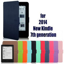 case for amazon new kindle 7 7th Generation 2014 6'' ereader slim protective cover case+film+stylus