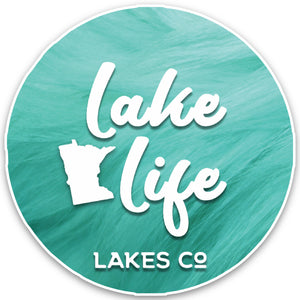 MN Lake Life - Sticker
