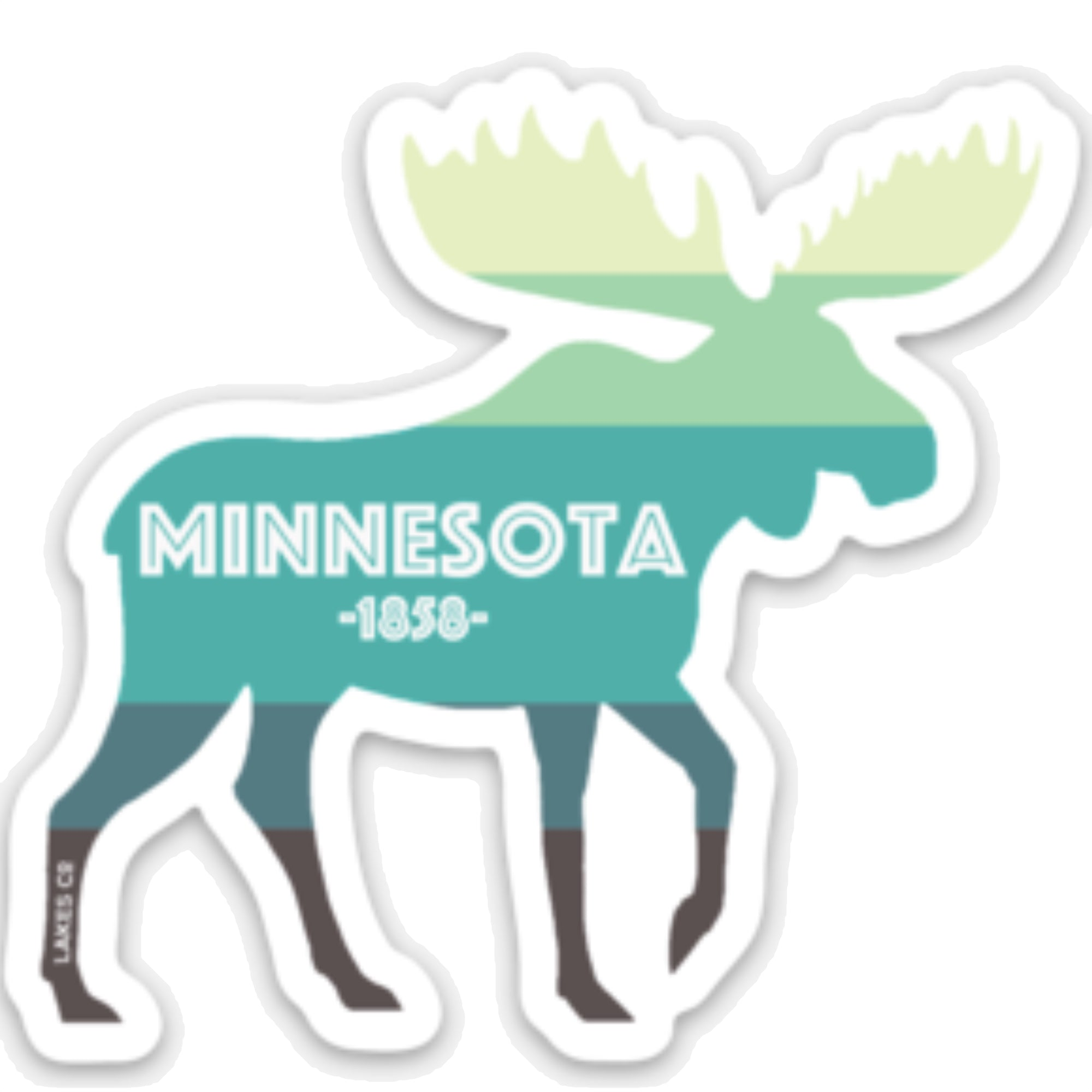 MN Moose - Sticker