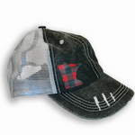Buffalo Plaid MN Baseball Cap