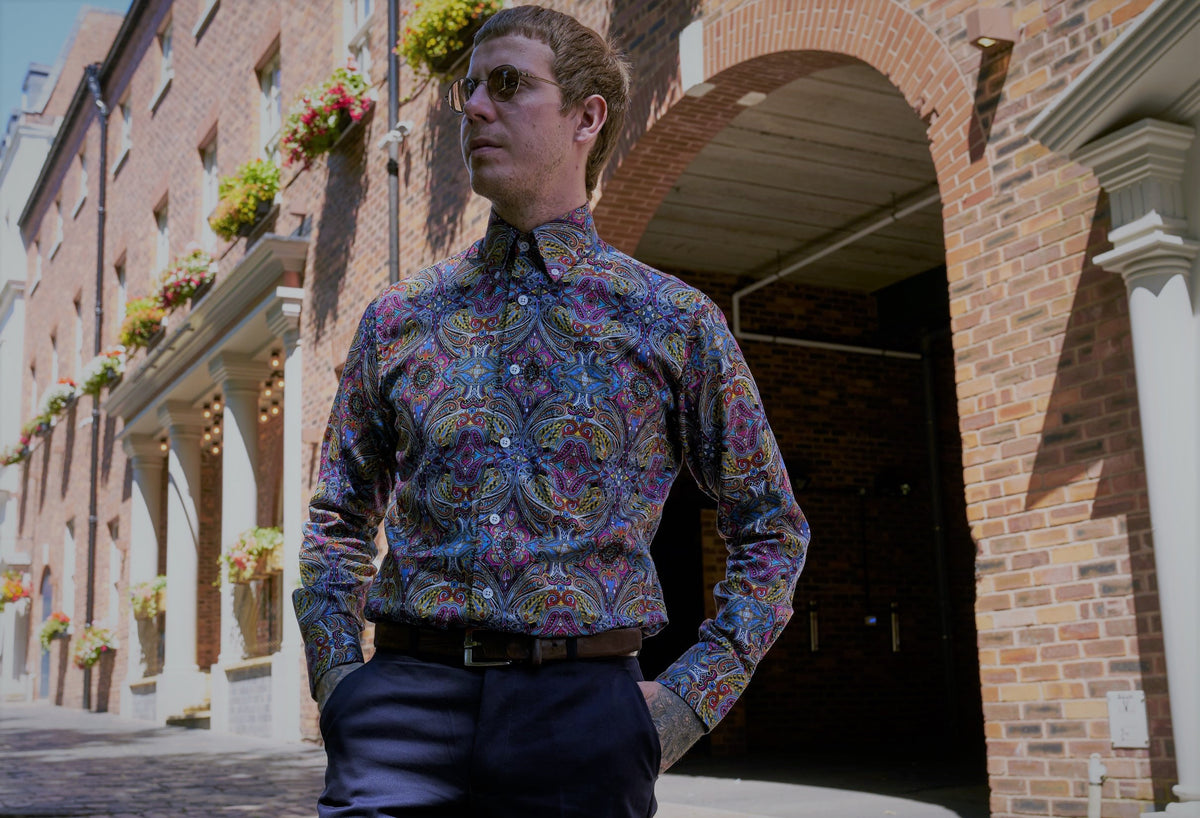 Vintage And Retro Men's Shirts | Relco London