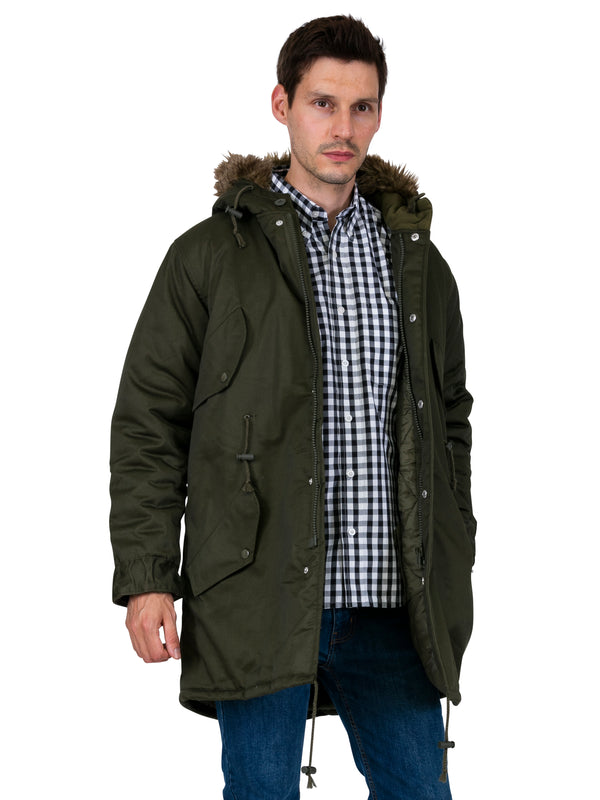 Fishtail Design - Mens Parka