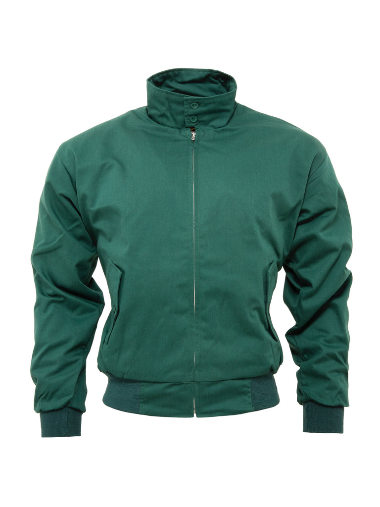 Harrington Jacket - Bottle Green