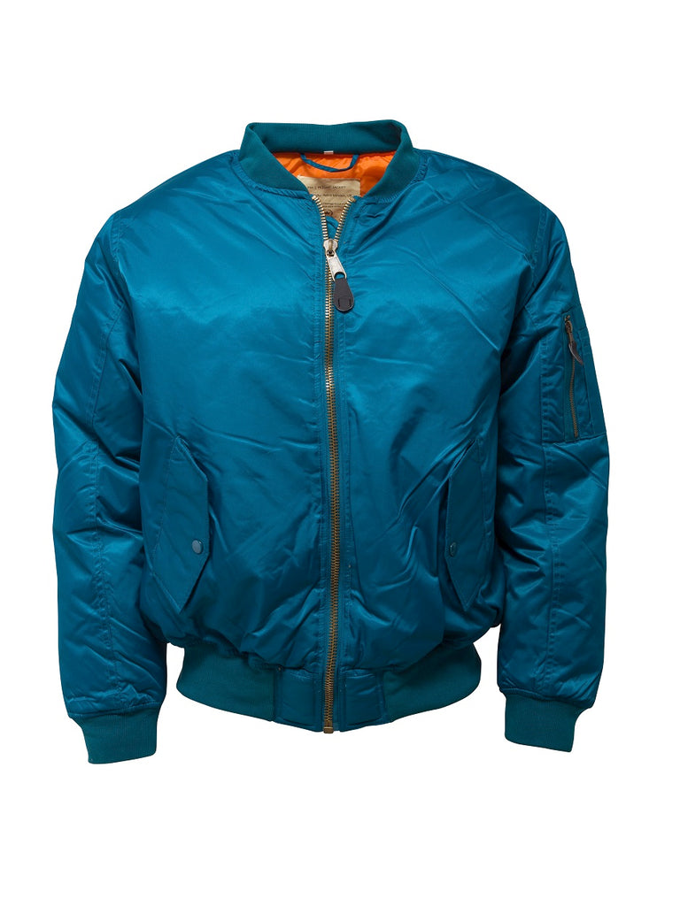 **NEW**  Flight Jacket - Petrol Blue