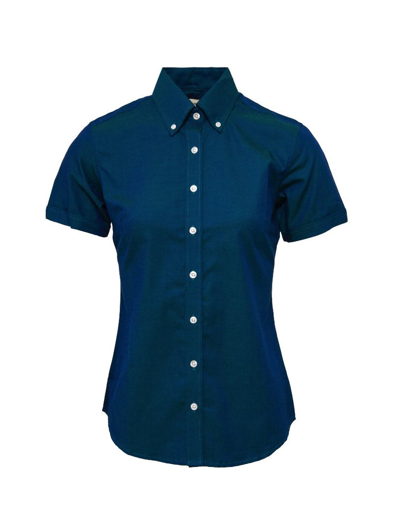 Ladies Tonic two tone Blue shirt