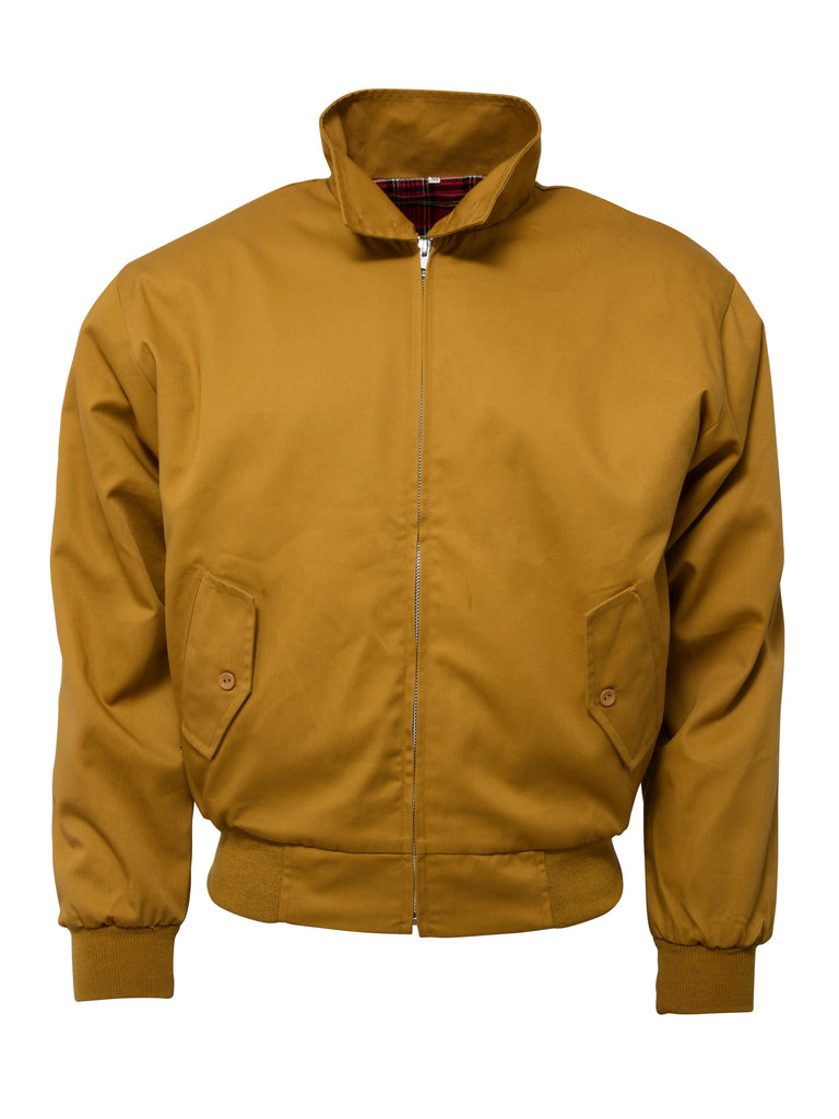 **NEW**  Harrington Jacket - MUSTARD