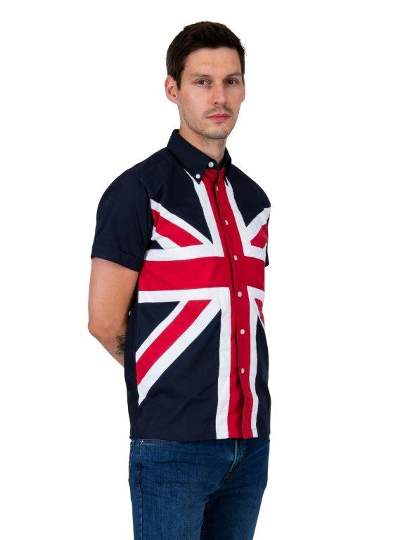 Union Jack Button Down shirt