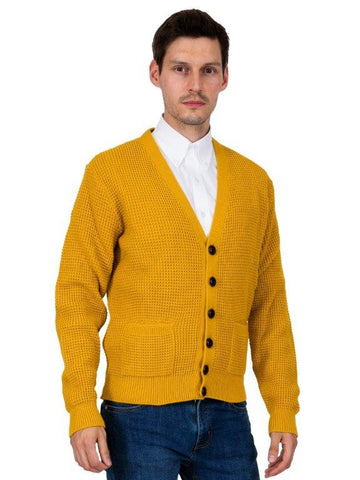 Waffle Knit cardigans with Football Buttons (6 colours)