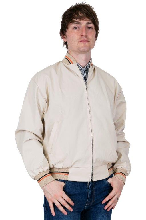 Monkey Jacket - Made in England - Stone