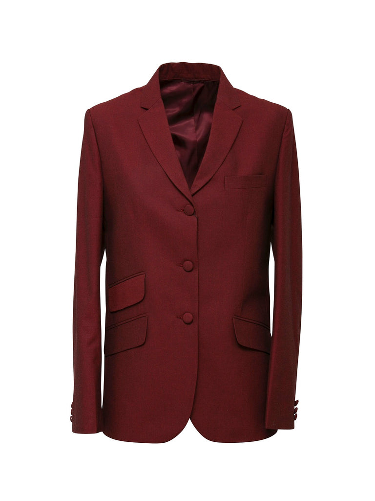 Ladies Tonic Burgundy Blazer