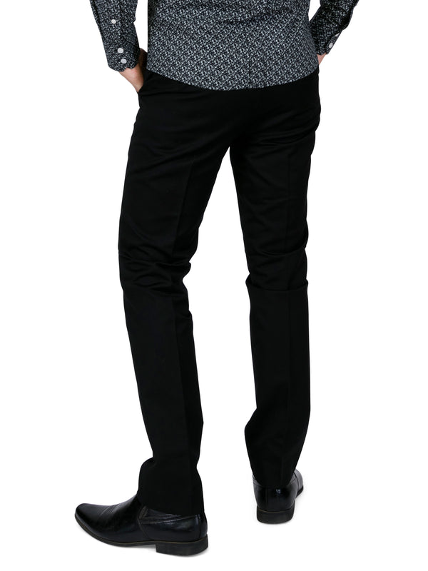 Sta Prest Trousers - Black