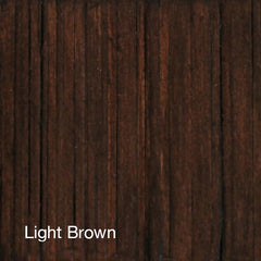 Curate Home Collection - Light Brown Finish