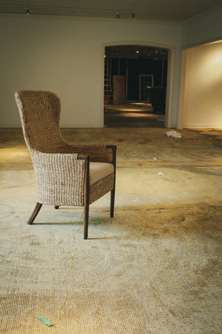 Curate Home Collection Seagrass Chair