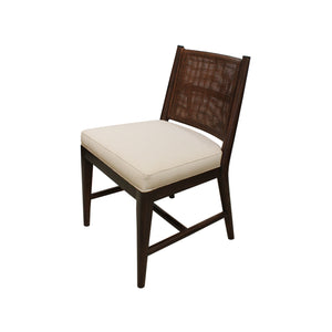 Bamboo Square Mesh Side Chair