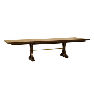Bamboo Rectangular Extension Dining Table