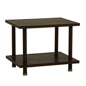 Bamboo End Table in Peninsula Finish