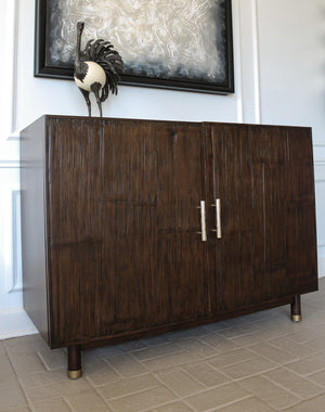Bamboo Door Chest - Furniture