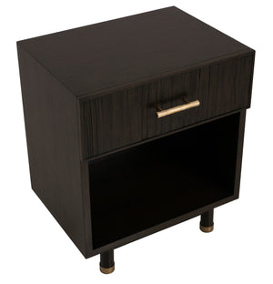 Bamboo Small Nightstand