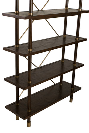 Curate Home Collection Bamboo Etagere in Light Brown