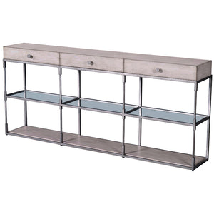 Leeward Triple Console Table - Furniture