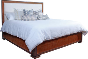 Purveyor Platform Bed In Walnut Saguran - Furniture