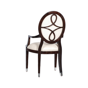 Savoy Oval Back Armchair
