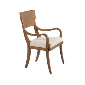 Chronograph Elliot Arm Chair Canyon Finish - Furniture