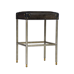 Martial Backless Bar and Counter Stool