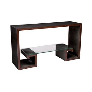 Chronograph Greek Key Console Table - Furniture