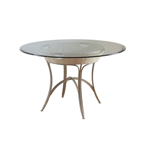 Canvas & Iron Dining Table - Furniture