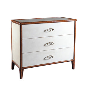 Canvas Three Drawer Chest - Furniture