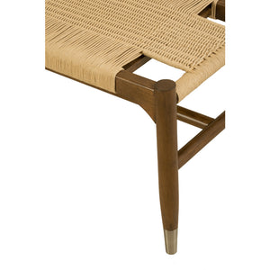 Chronograph Tristan Woven Bench - Furniture