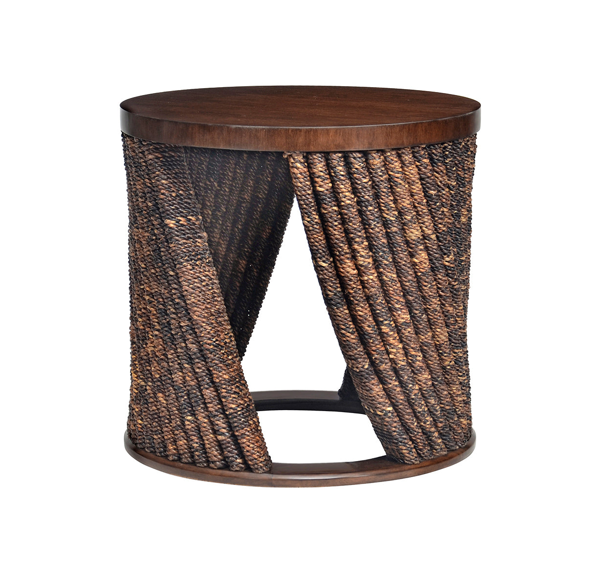 Chronograph Twisted Abaca Spot Table