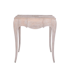 Ingenue Serpentine End Table