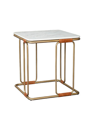 Chronograph Stone Side Table - Furniture