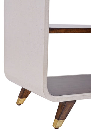 Canvas Legged Open Bookcase